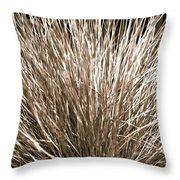 Grass Explosion Throw Pillow