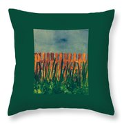 Grass Is Greener On The Other Side  Throw Pillow