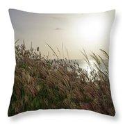 Grass Wave Throw Pillow