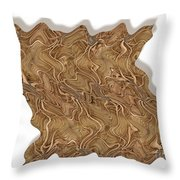 Grass Works Throw Pillow