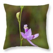 Grasspink #2 Throw Pillow