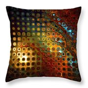 Grated Throw Pillow