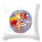 Grateful Dead Europe 72' Throw Pillow