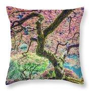 Gratitude Tree Throw Pillow