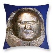 Grave Mask Throw Pillow