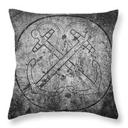 Grave Of Cadet Soady Macroom Ireland Throw Pillow