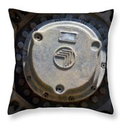 Gravel Pit Warrior Power Screen 04 Throw Pillow