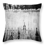 Graveyard 6788 Throw Pillow