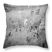 Graveyard 6793 Throw Pillow