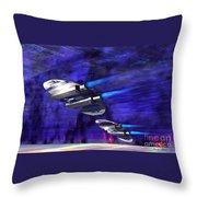 Gravitational Forces Throw Pillow