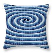 Gravitational Waves Throw Pillow