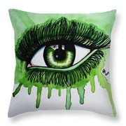 Gravity 6 Throw Pillow