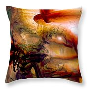 Gravity Of Love Throw Pillow by Linda Sannuti