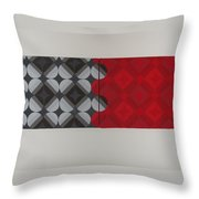 Gray's Red Anatomy Throw Pillow