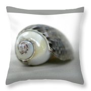 Graysnail Throw Pillow