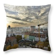 Graz At Work Throw Pillow