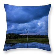 Grean Cay Storm 4 Throw Pillow