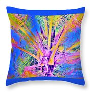 Great Abaco Palm Throw Pillow
