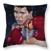 Great Ali Throw Pillow