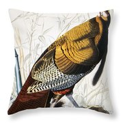 Great American Turkey Throw Pillow