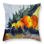 Great Balls Of Fire Throw Pillow