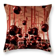 Great Balls Of Macy's Throw Pillow