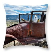Great Basin Jalopy Throw Pillow