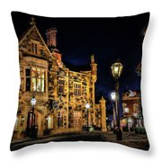 Great Britain World Showcase Epcot Throw Pillow