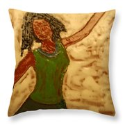 Great Change - Tile Throw Pillow