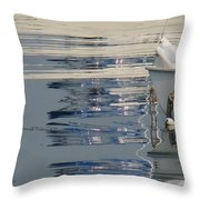 Great Day For Sailing Throw Pillow