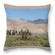 Great Dunes Trifective Range  Throw Pillow