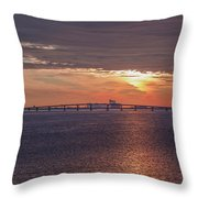 Great Egg Harbor Ocean City New Jersey Throw Pillow