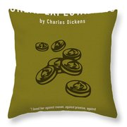 Great Expectations By Charles Dickens Greatest Books Ever Series 023 Throw Pillow