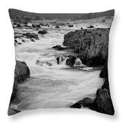 Great Falls Potomac Throw Pillow
