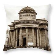 Great George Street Congregational Church Liverpool Throw Pillow