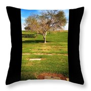 Great Grandma Buried Throw Pillow