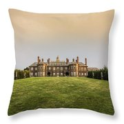 Great House At Castle Hill Throw Pillow