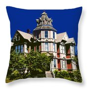 Great House Throw Pillow