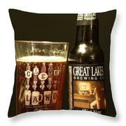 Great Lakes Brewery  Throw Pillow