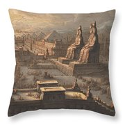 Great Memnonian Throw Pillow