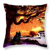 Great Oak Of Tara Throw Pillow