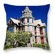 Great Old House Throw Pillow