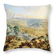 Great Peak Of The Amatola-british-kaffraria  Throw Pillow