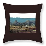 Great Plains Throw Pillow