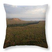 Great Rift Valley, Ethiopia Throw Pillow
