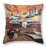 Great Room At Lascaux Throw Pillow