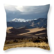 Great Sand Dunes National Park Throw Pillow