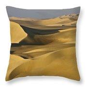 Great Sand Sea Throw Pillow