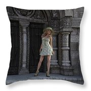 Great Summer Day Throw Pillow