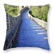 Great Wall Pathway Throw Pillow